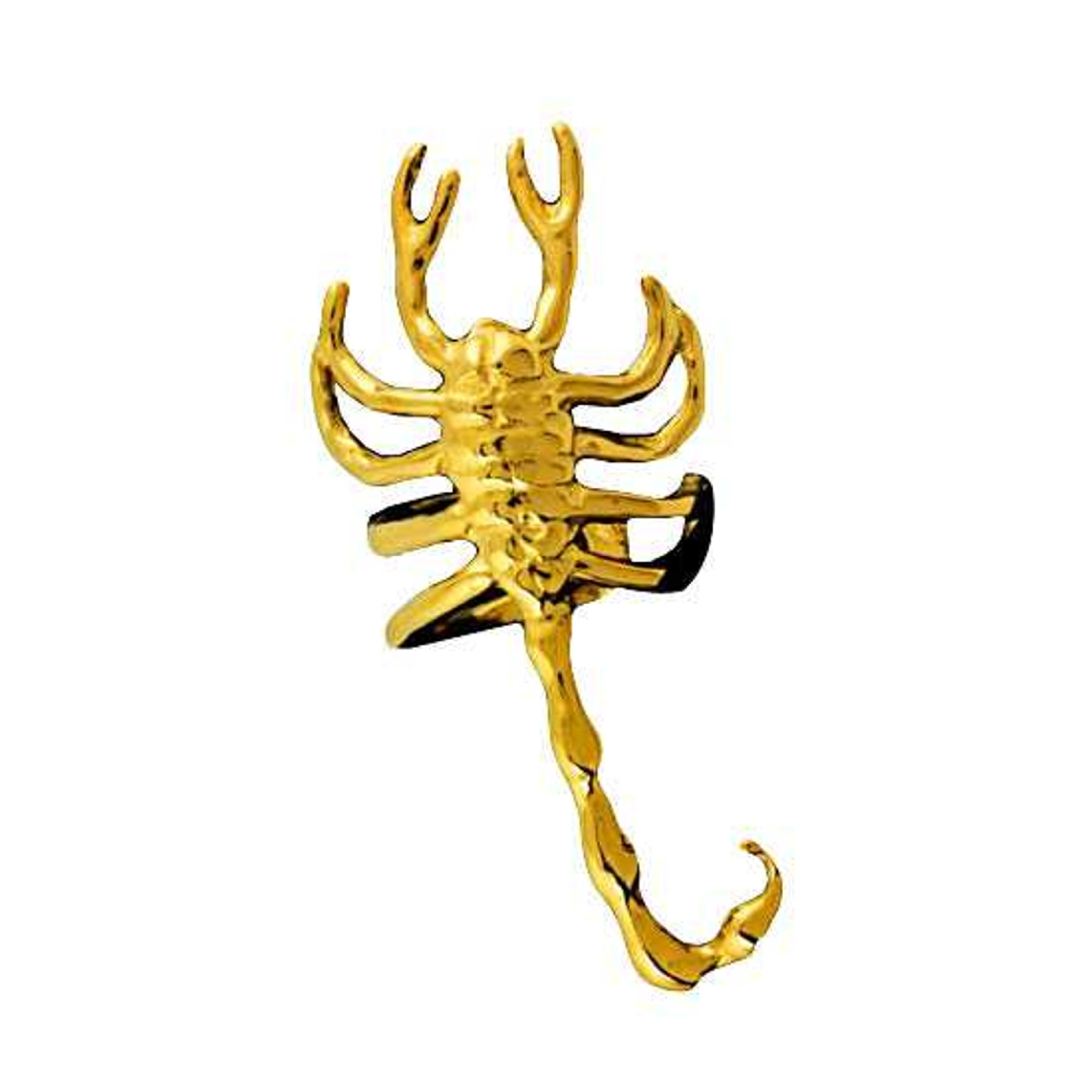 Gold Vermeil Right Only Scorpion Ear Cuff