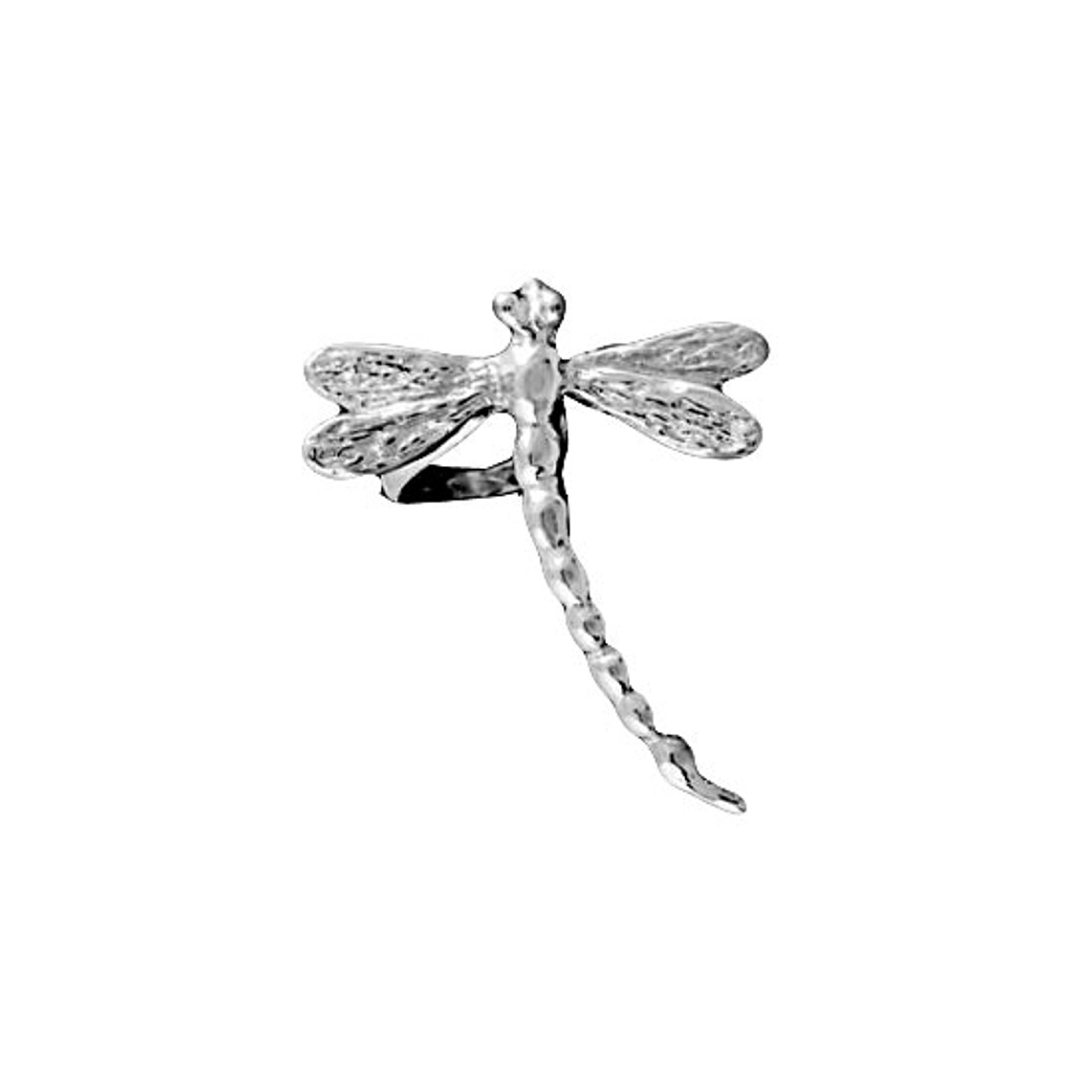 Pierceless Right Only Dragonfly Ear Cuff