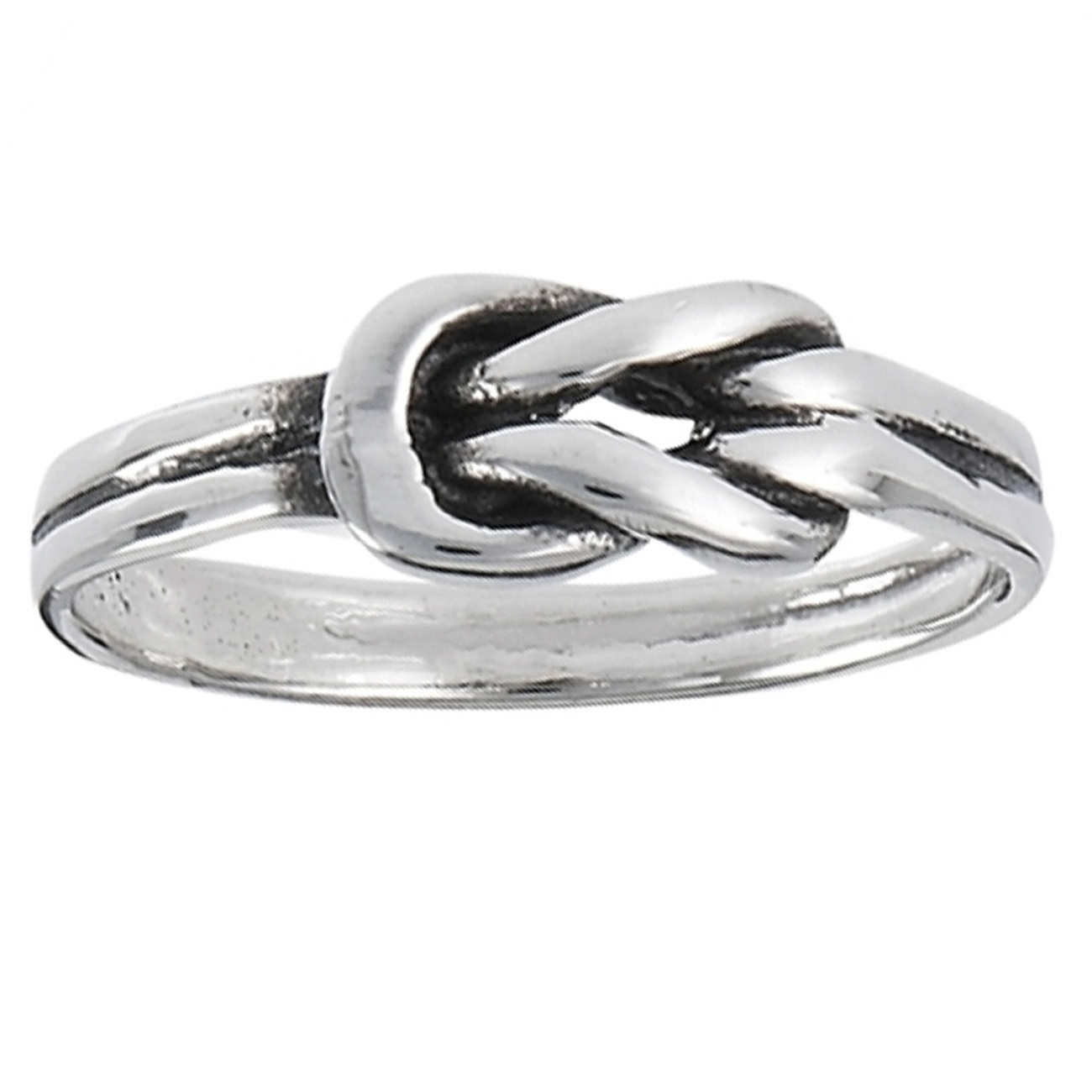 Square Knot Infinity Symbol Knot Ring