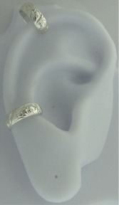 Left Or Right Nonpiercing Small Flowers Band Ear Cuff