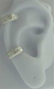 Left Or Right Nonpiercing Daisy Flowers Band Ear Cuff