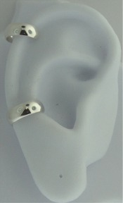 Left Or Right Nonpiercing High Polished Plain Band Ear Cuff