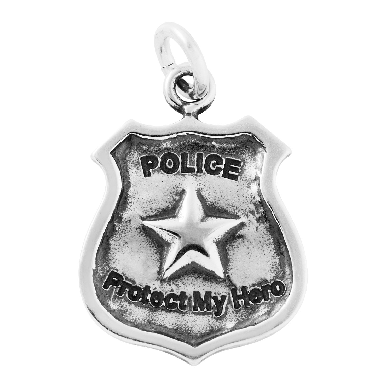 Police Officer Badge Charm
