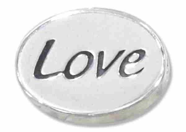"""LOVE"" Message Bead Spacer Bead Pendant"