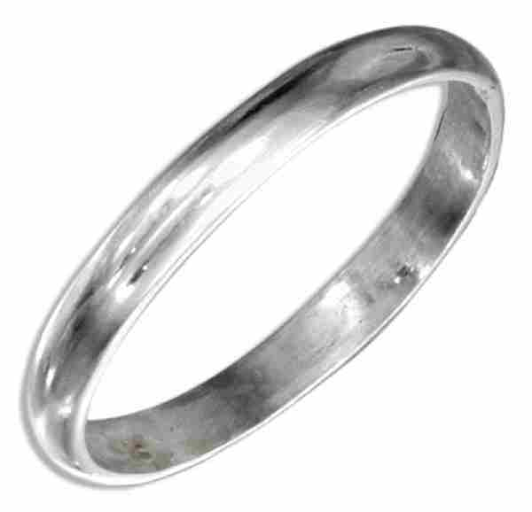 2mm Thin Plain Band Ring