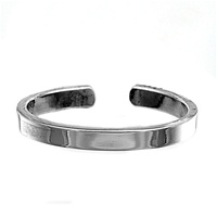 2mm Plain Flat Thin Band Adjustable Toe Ring