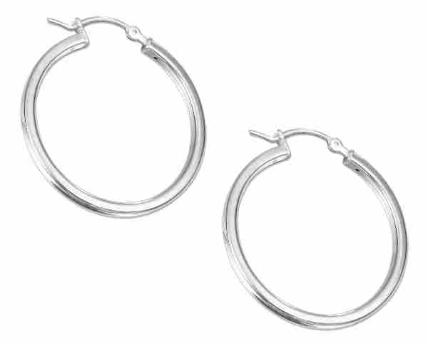 Square Hoop Earrings 30mm