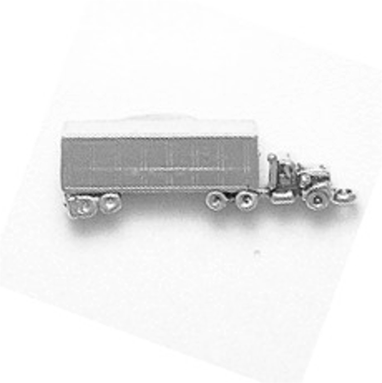 3D 18 Eighteen Wheeler Big Rig Semi Tractor Trailer Charm