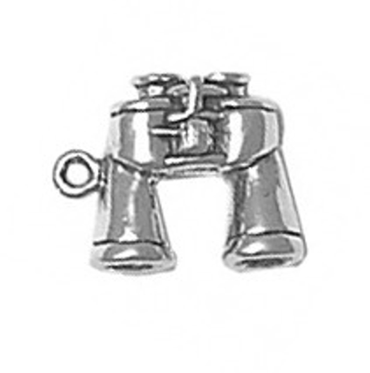 3D Sports Site Seeing Bird Watching Binoculars Charm
