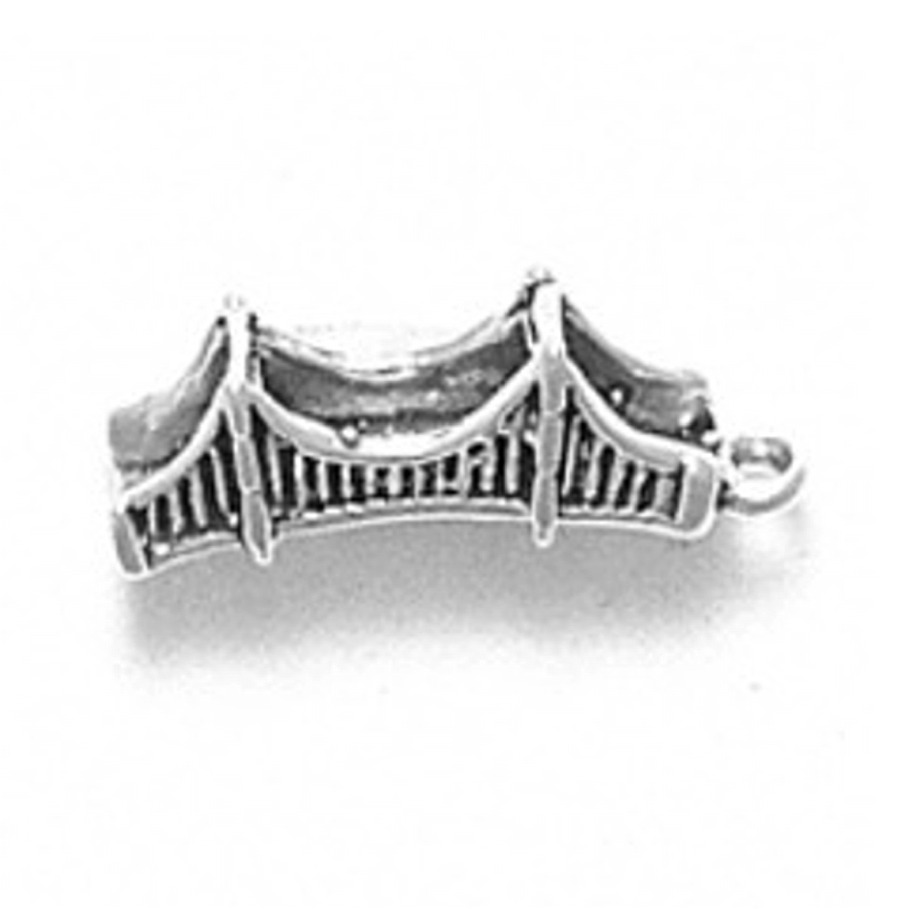 3D San Francisco California Golden Gate Bridge Charm