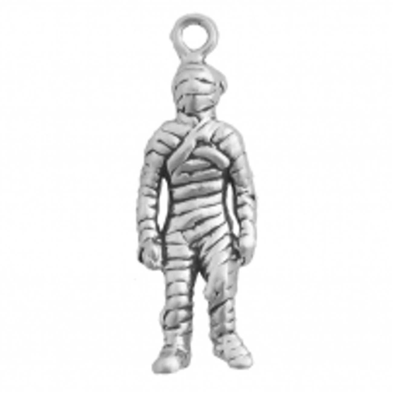 3D Cloth Wrapped Egyptian Mummy Charm