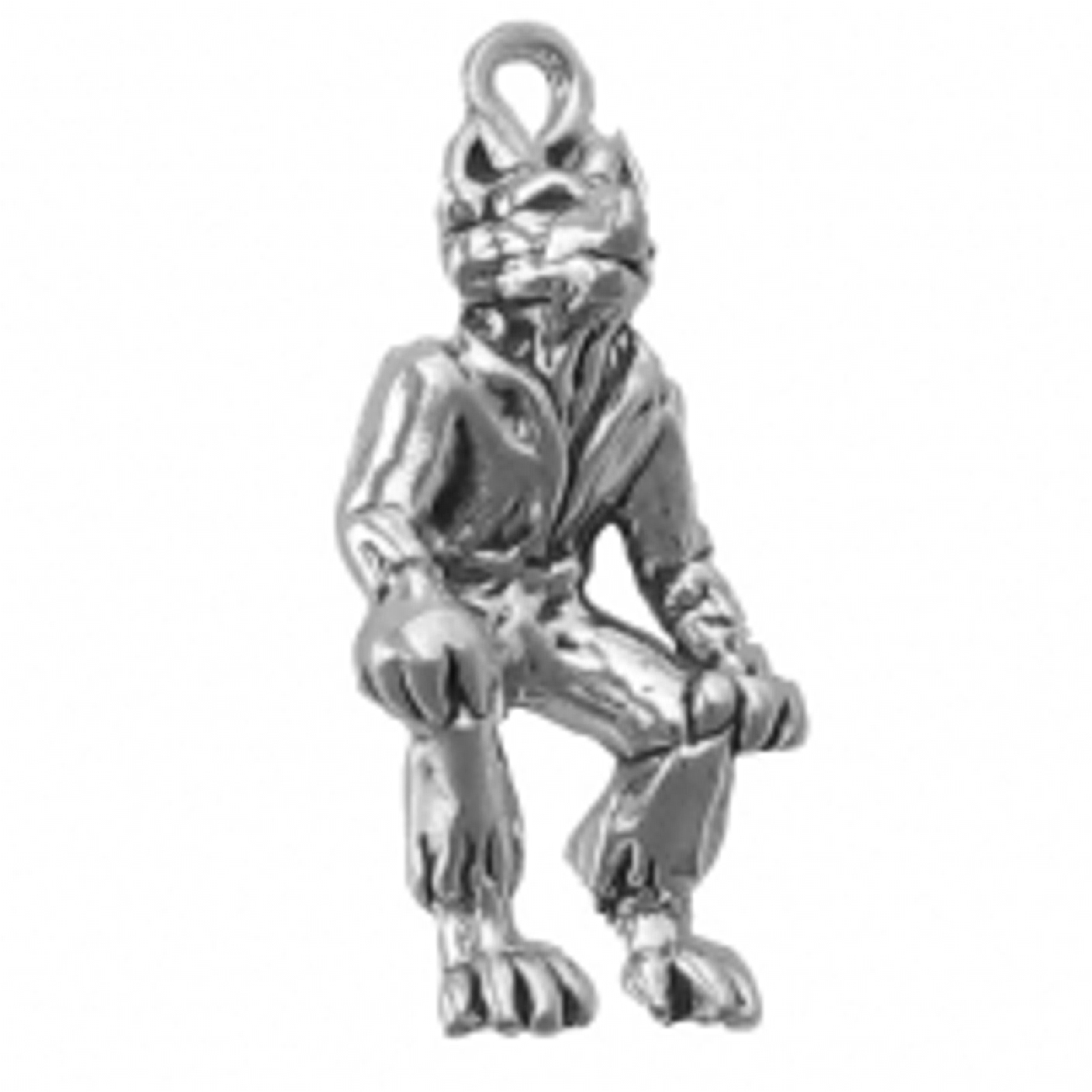 3D Clothed Walking Werewolf Wolfman Charm