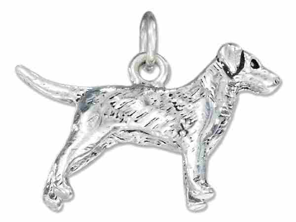 3D Labrador Retriever Dog Breed Charm