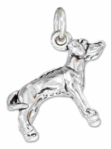 3D Rhodesian Ridgeback Dog Breed Charm