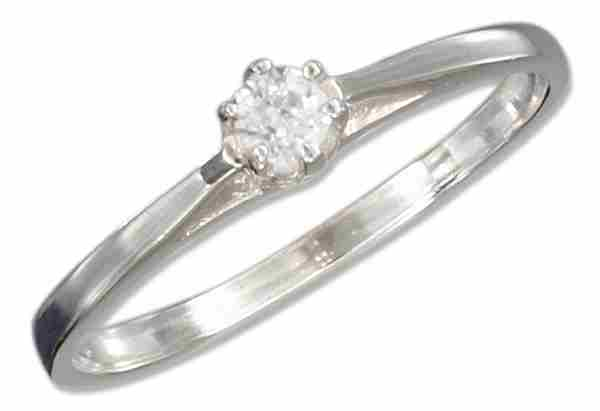 Cubic Zirconia Engagement Or Wedding Ring