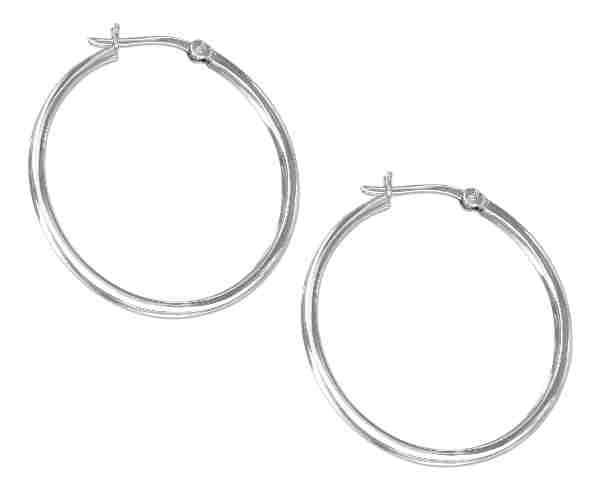 Square Hoop Earrings 40mm