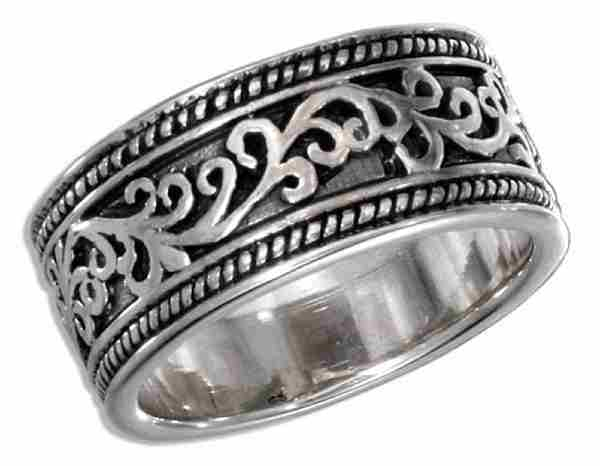 Unisex Tribal Design Ring
