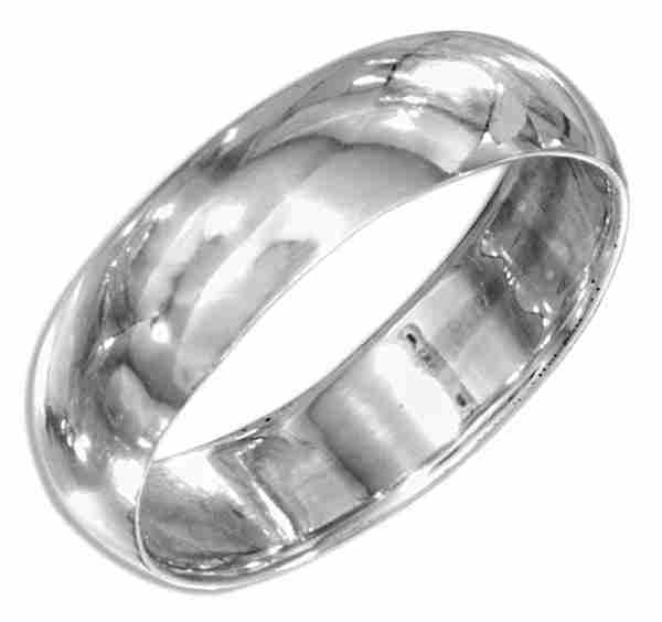 Unisex Wedding Band Ring