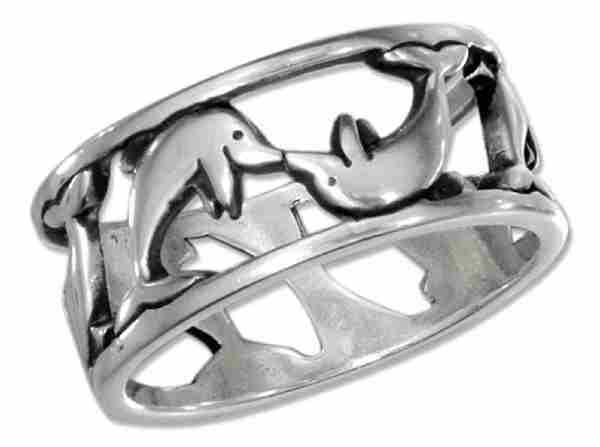 Dolphin Ring 9mm