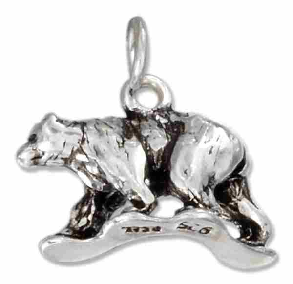 Walking Bear Charm