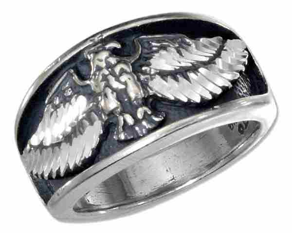 Unisex Flying Eagle Ring