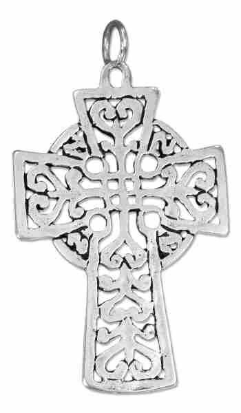 Open Celtic Cross Charm