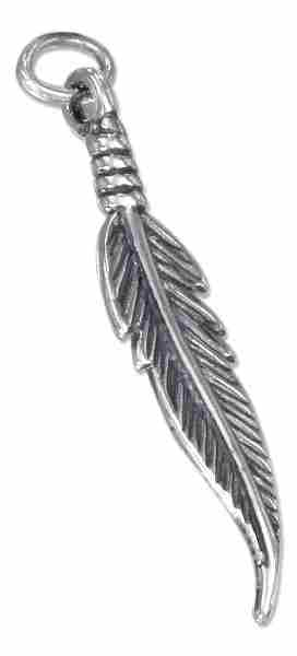 3D Indian Eagle Feather Charm