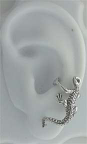 Nonpiercing Left Only Lizard Ear Cuff Wrap