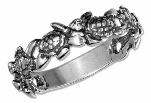 Turtles Ring