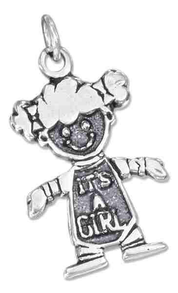 IT'S A GIRL Charm