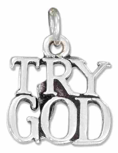 TRY GOD Word Charm