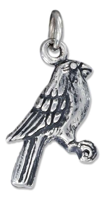 Small Two Sided Song Bird Charm