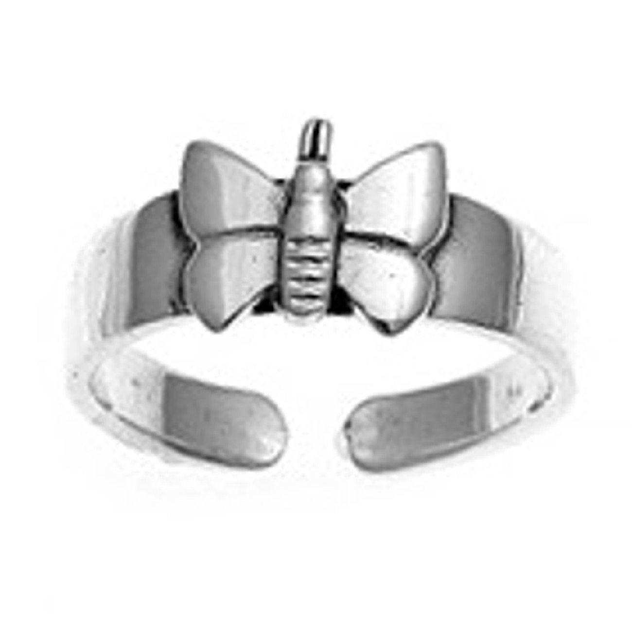 Butterfly Adjustable Toe Ring