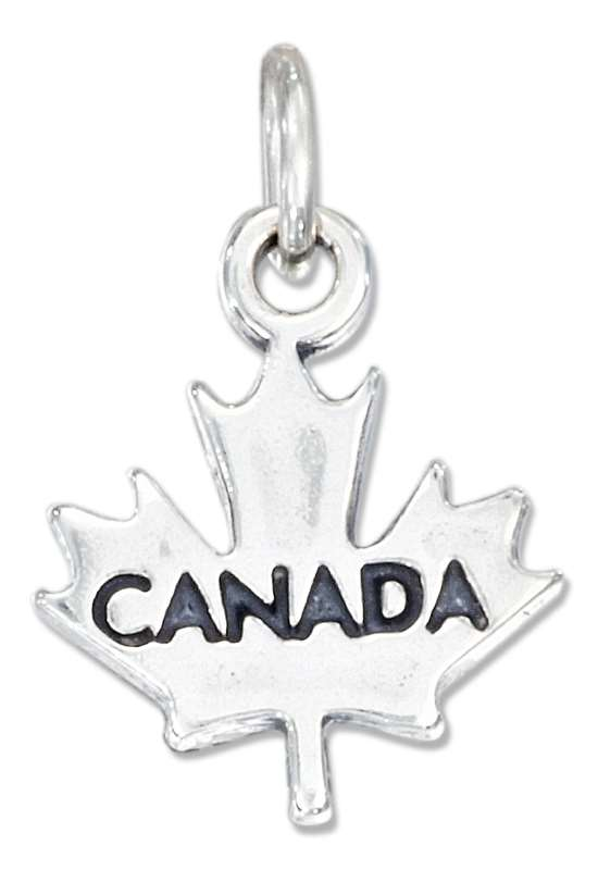 """Canada"" Maple Leaf Charm"