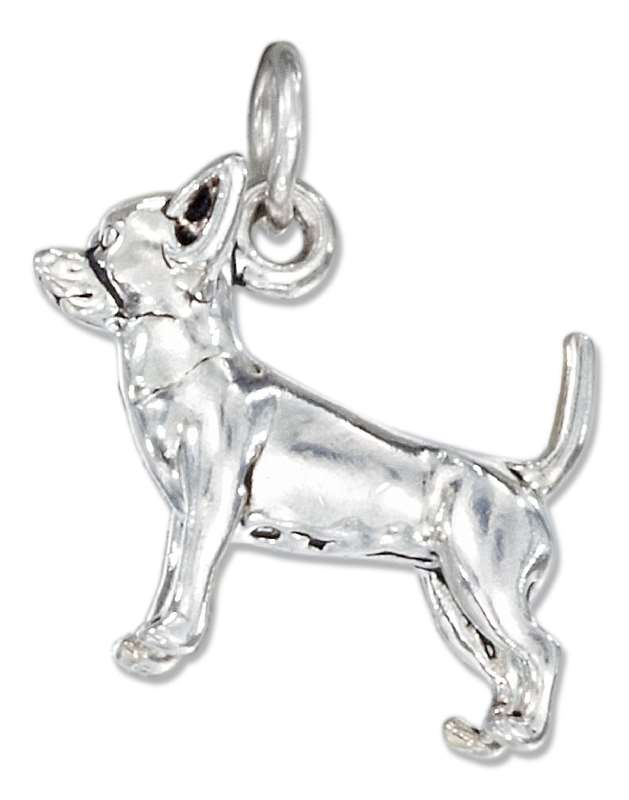 3D CHIHUAHUA Dog Breed Charm