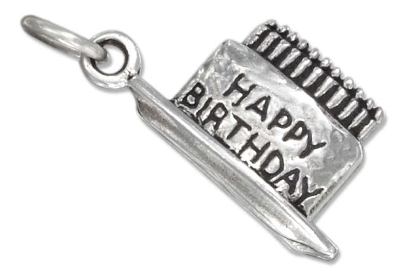 Birthday Cake Candles Charm