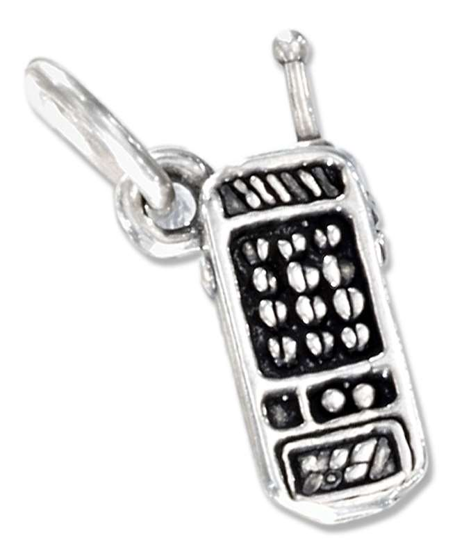 3D Cell Phone Charm