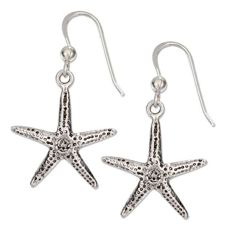 Dangle Starfish Dangle Earrings