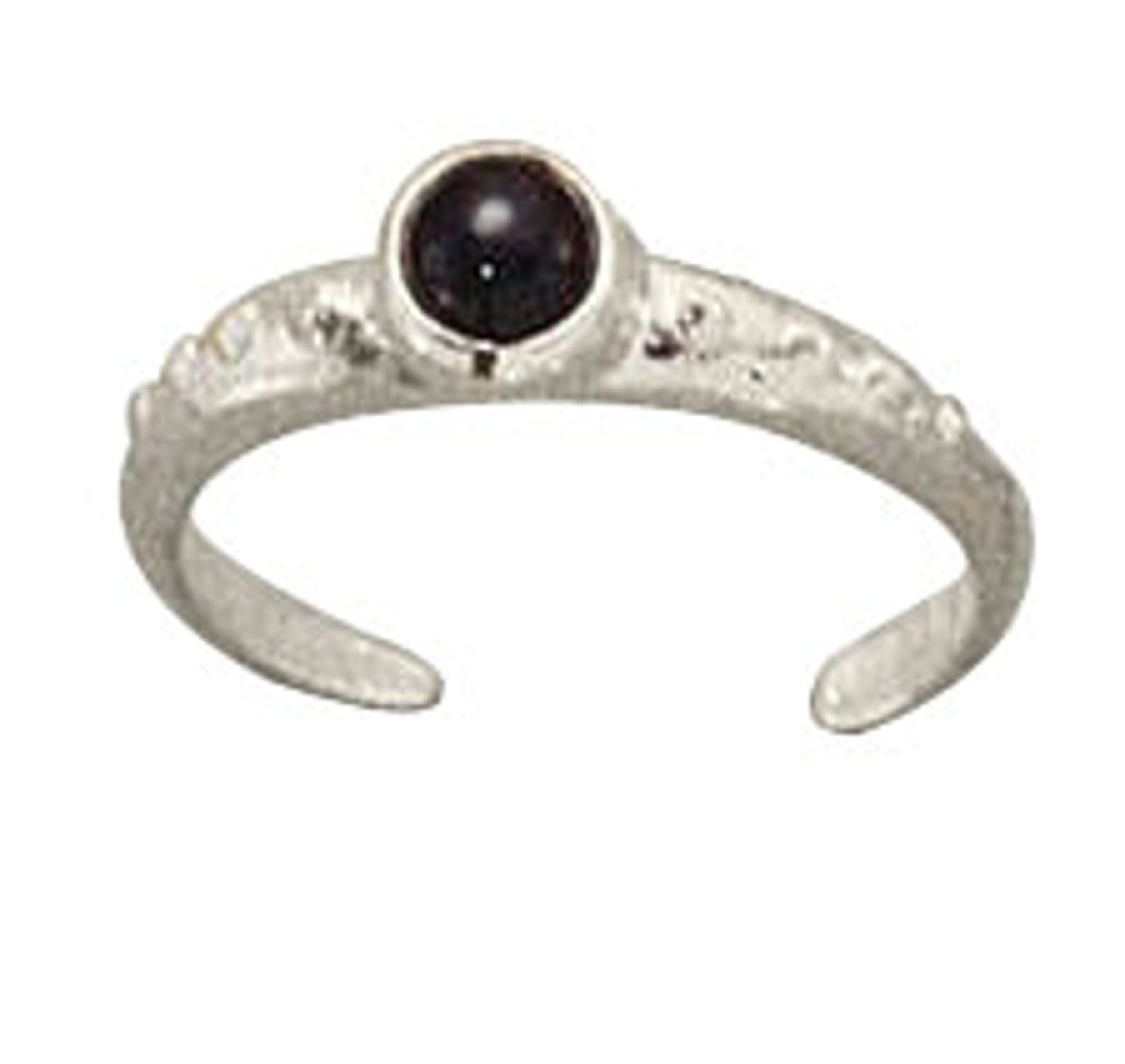 Black Onyx Toe Ring