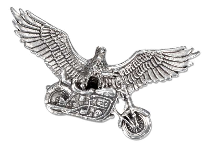 3D Eagle On Motorcycle Pendant
