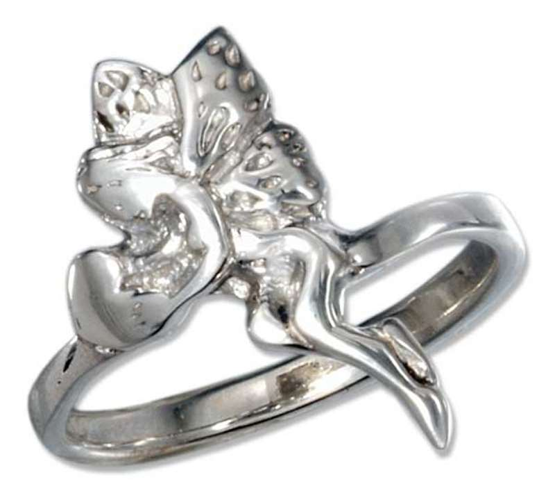 Fairy Holding Heart Ring