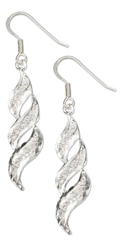 Filigree Twist Earrings