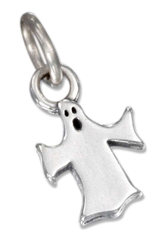 Moaning Halloween Ghost Charm