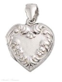 Sterling Silver Keepsake Lockets