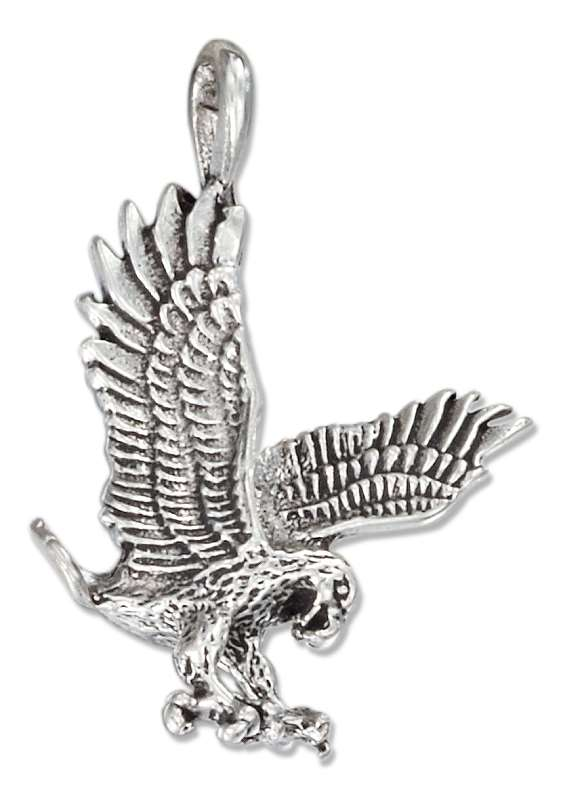 Small Flying Eagle Pendant