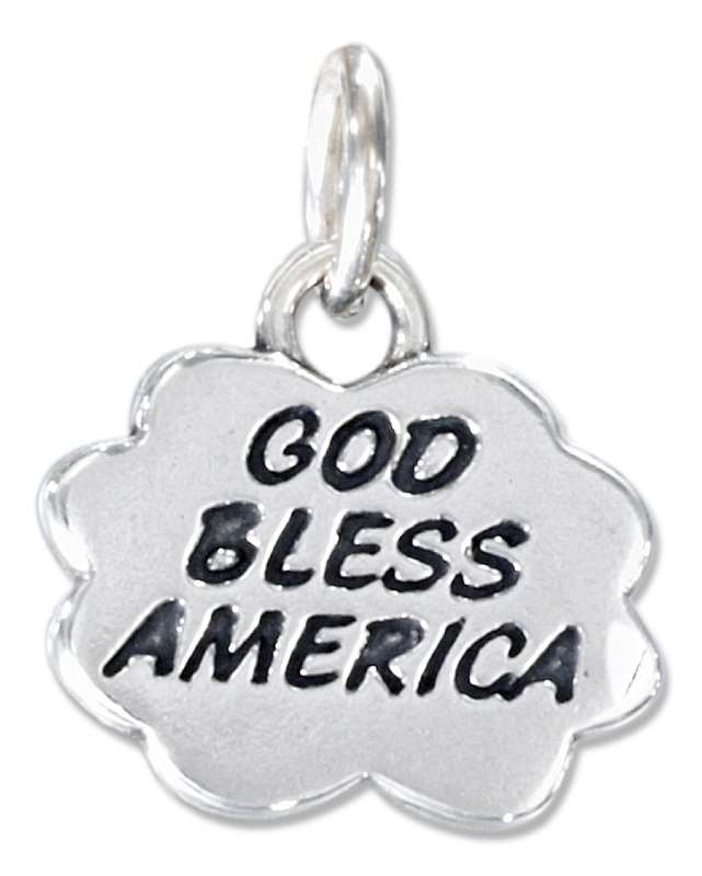 """GOD Bless AMERICA"" In CLOUD Charm"