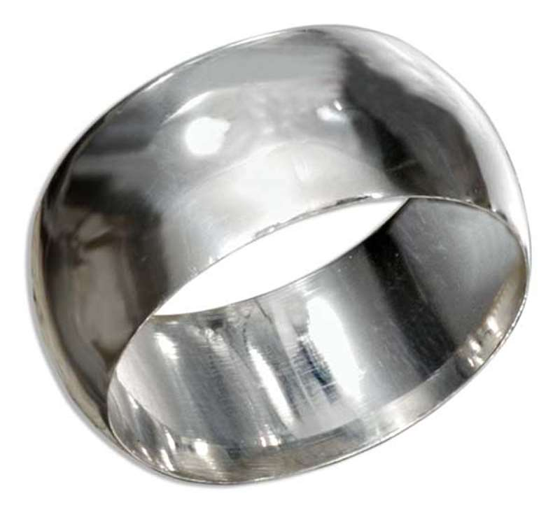 Unisex 9mm Plain Band Ring