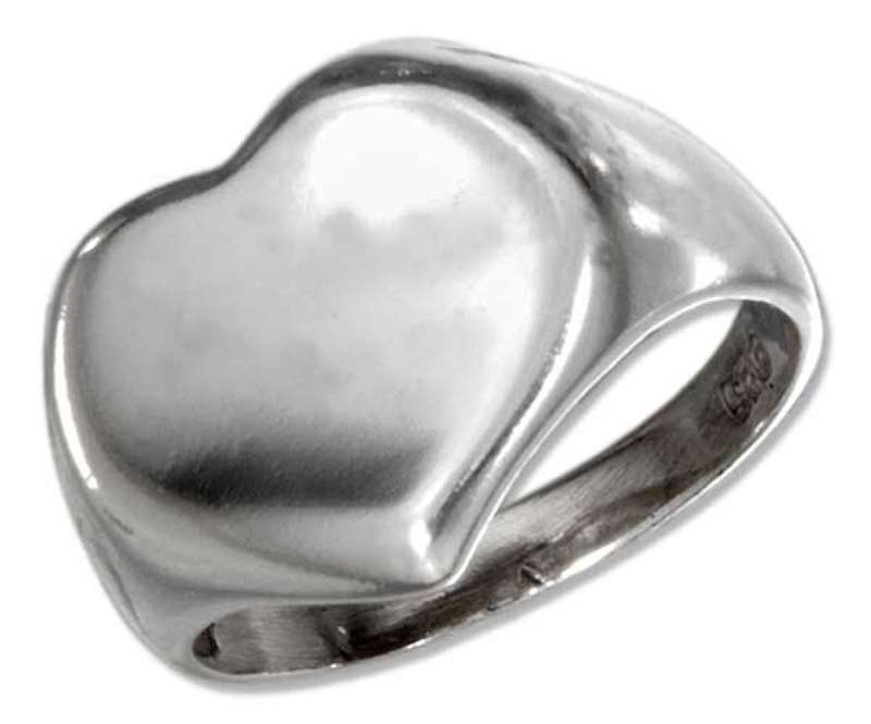 Concave Heart Ring