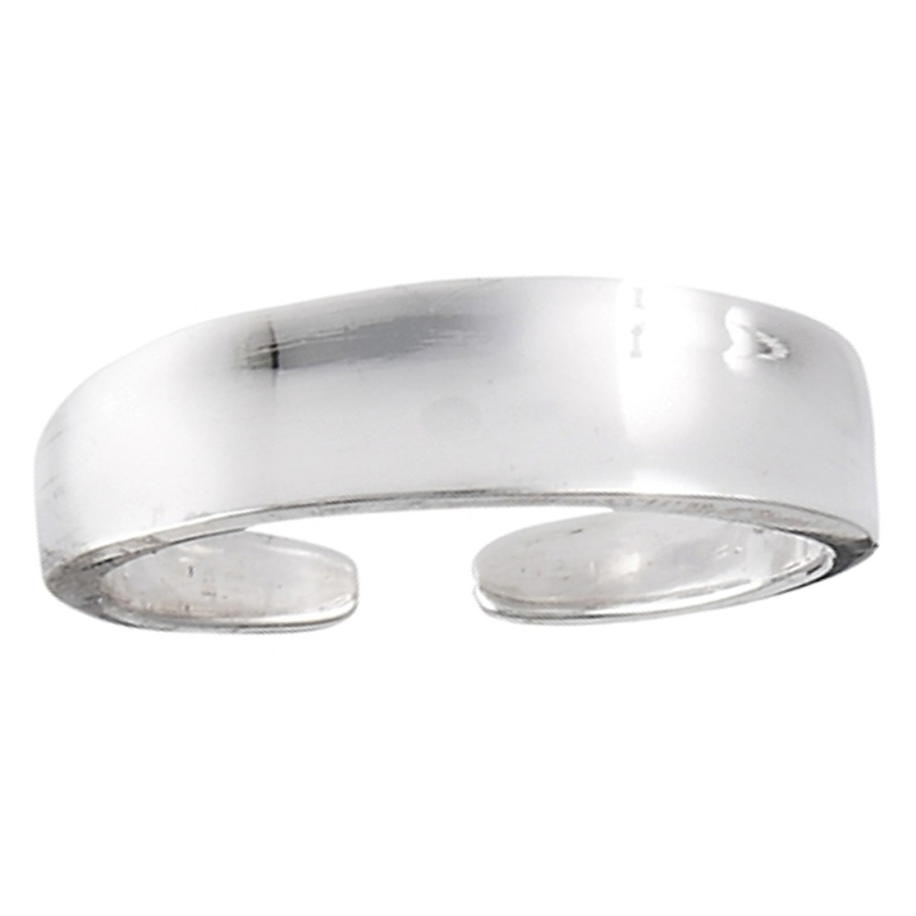 Concave Surface Tapered Plain Adjustable Toe Ring