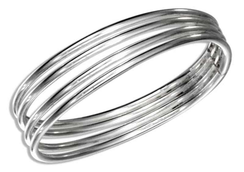 Thin Four Band Thumb Ring